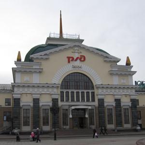 Железнодорожные вокзалы Русского Камешкира